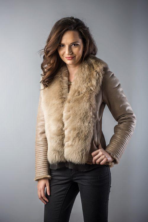 Jachetă din blană 250 P 2