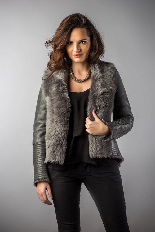 Jachetă din blană 250 P 1