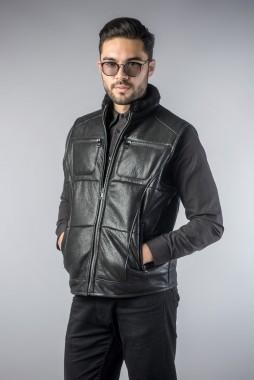 vesta de blana barbati negru (3)