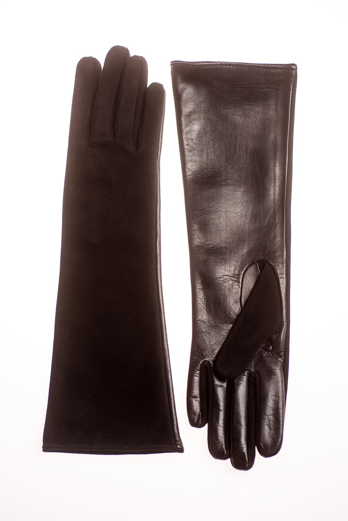 Mănuși de damă lungi, confectionate din piele naturală M101 thumbnail