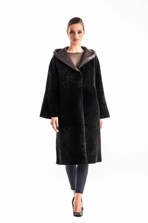 Palton din blana de miel merinos 2004 G 1