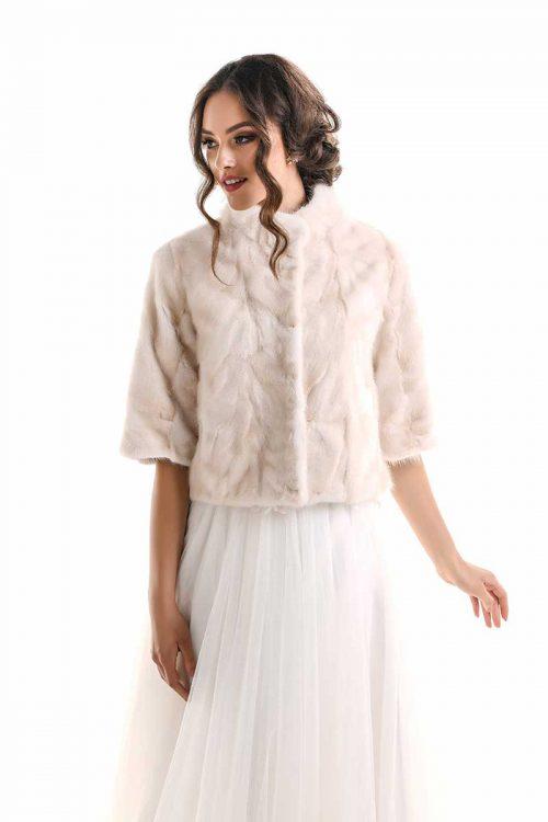 Jacheta din blana de nurca 616 2