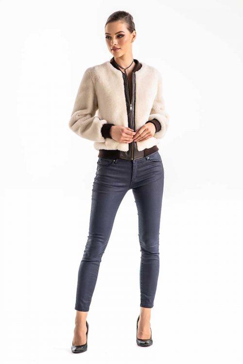 Jacheta din blana de miel 272 1