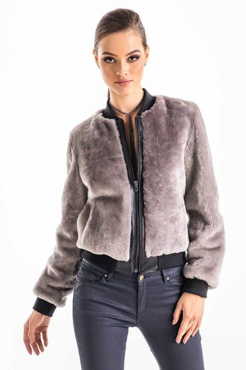Jacheta din blana de miel 272 2