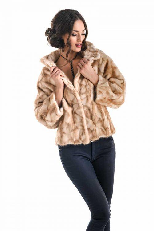 Jacheta din blana de nurca 290 2