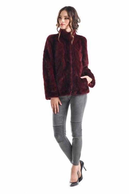 Jacheta din blana de nurca 288 1