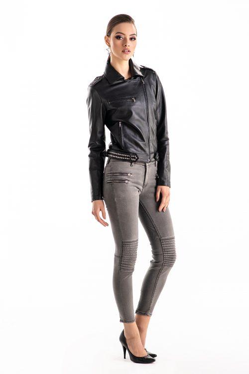 Jacheta din piele nappa 1012 2