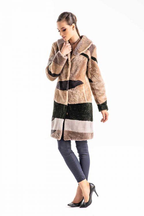 Palton din blana de miel 273 1