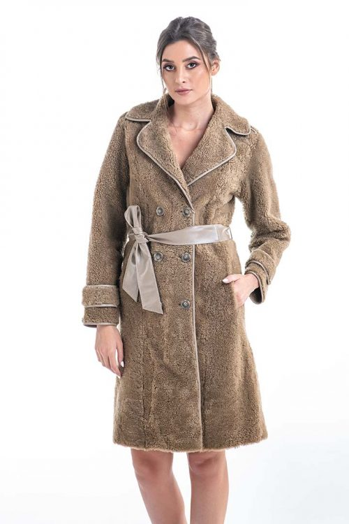 Palton din blană de miel 2006 1