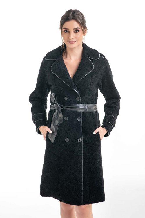 Palton din blană de miel 2006 2