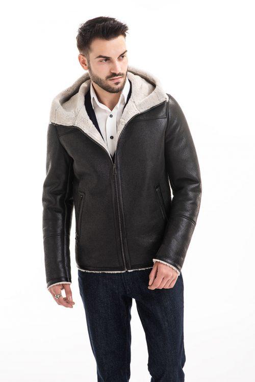 Jachetă din blană de miel 358 1