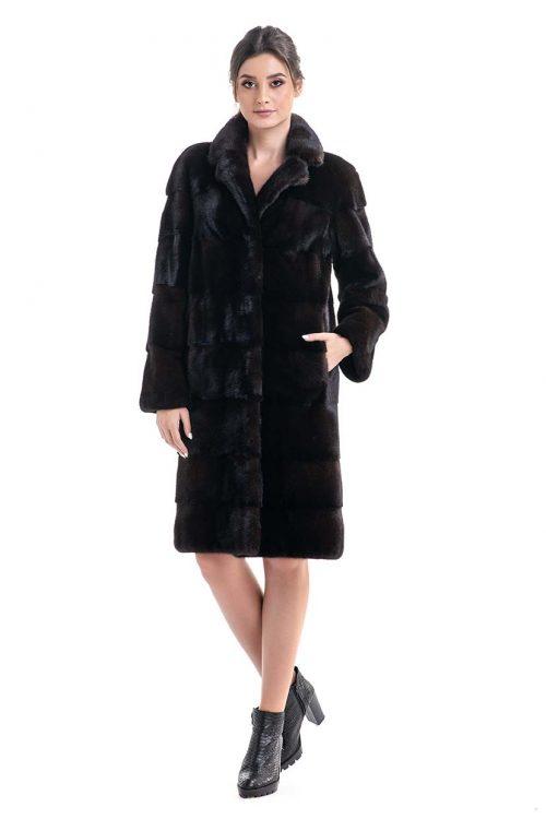 Palton din blană de nurcă HM019 2