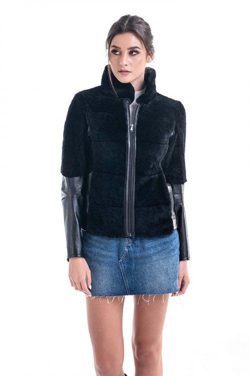 Jachetă din blană de miel 2008 1