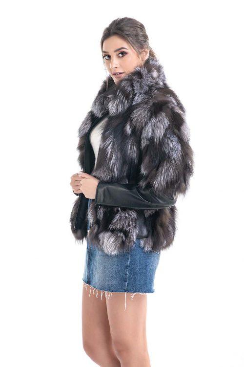 Jachetă din blană de vulpe 2010 1