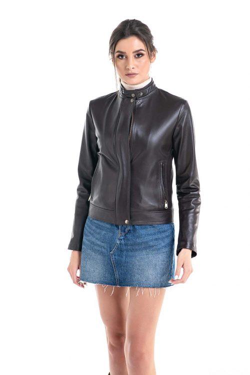 Jachetă din piele 1017 1