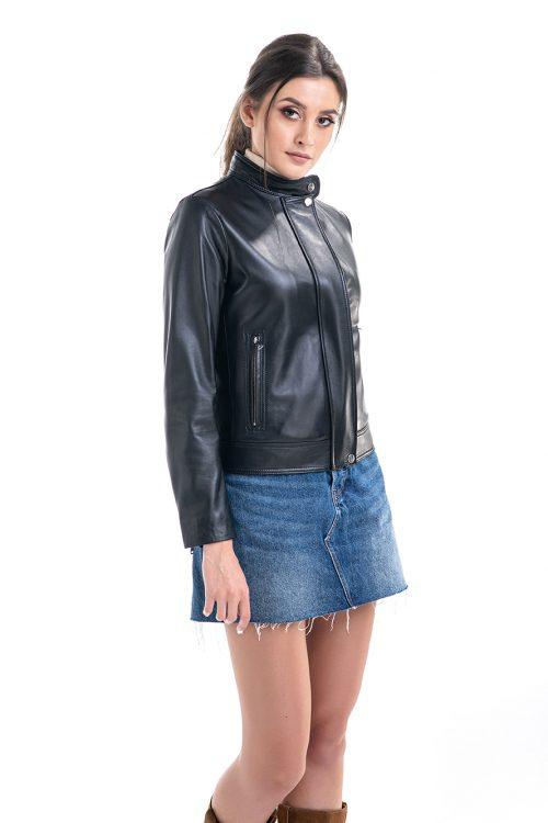 Jachetă din piele 1017 2