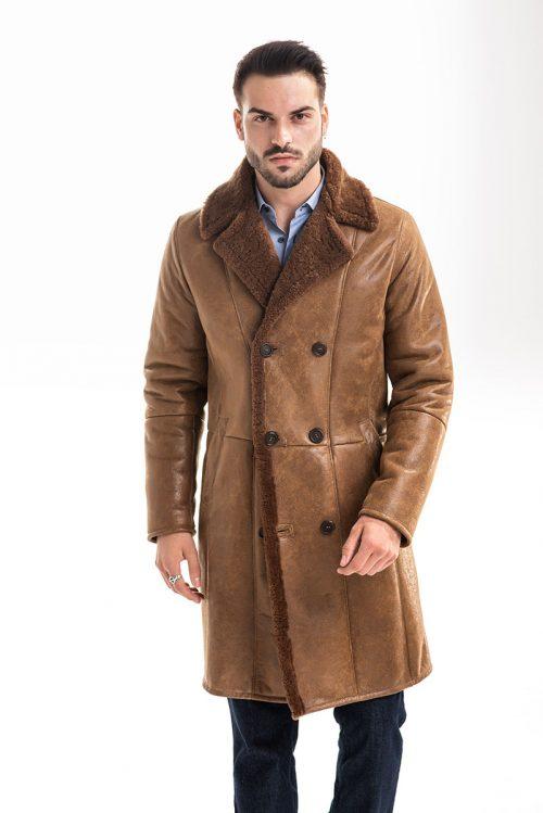 Palton din blană de miel 359 1