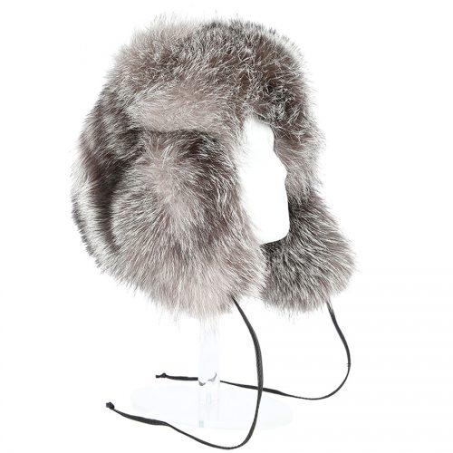 Caciula din blana de vulpe polara 534 2
